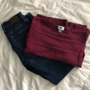 Old Navy • thin knit sweater
